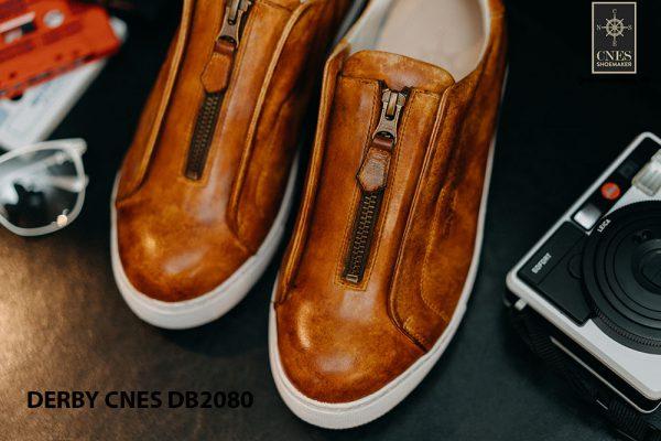 Giày tây nam có dây kéo sneaker Derby CNES DB2080 008