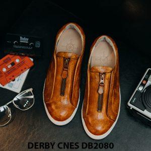 Giày tây nam có dây kéo sneaker Derby CNES DB2080 007