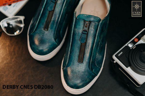 Giày tây nam có dây kéo sneaker Derby CNES DB2080 002