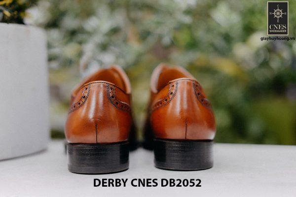Giày da nam mũi vuông Captoe Derby CNES DB2052 004