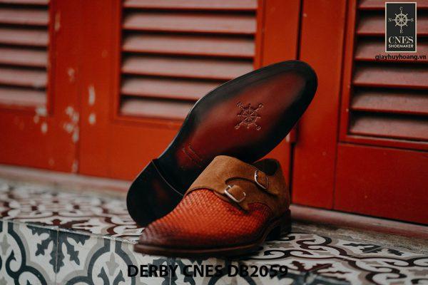 Giày tây nam da đan Derby CNES DB2059 004