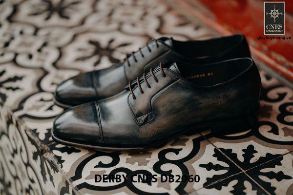 Giày Derby nam da bê CNES DB2060 004