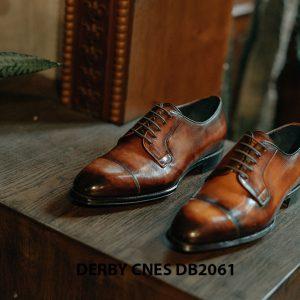 Giày tây Derby nam đánh patina CNES DB2061 005