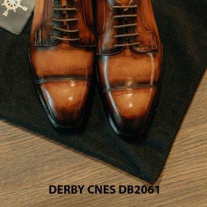 Giày tây Derby nam đánh patina CNES DB2061 003