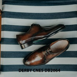 Giày da nam hàng hiệu Derby CNES DB2064 001