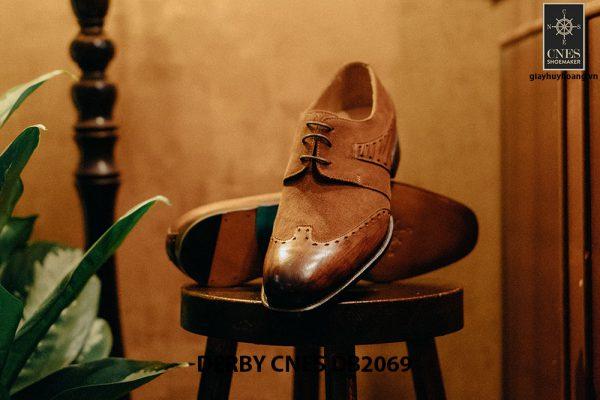 Giày da nam chính hãng Derby CNES DB2069 002
