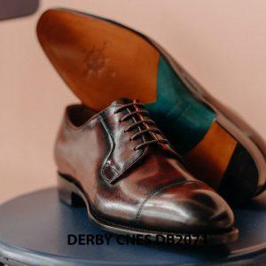 Giày tây nam Derby hàng hiệu CNES DB2071 003