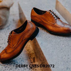 Giày da nam Derby Wingtip CNES DB2072 005