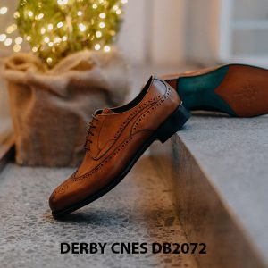 Giày da nam Derby Wingtip CNES DB2072 004