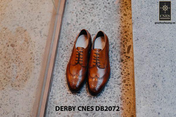 Giày da nam Derby Wingtip CNES DB2072 001