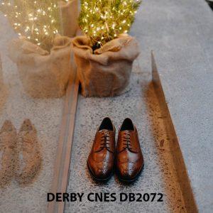 Giày da nam Derby Wingtip CNES DB2072 003