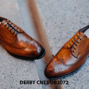 Giày da nam Derby Wingtip CNES DB2072 002