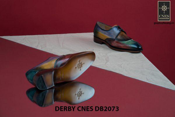Giày da nam đa sắc Derby CNES DB2073 006