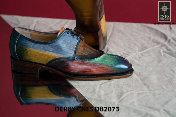 Giày da nam đa sắc Derby CNES DB2073 003