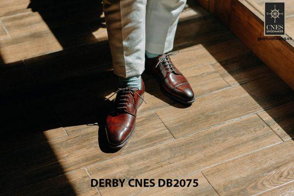 Giày tây nam mũi vuông Derby CNES DB2075 005