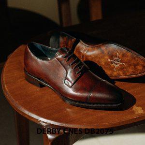 Giày tây nam mũi vuông Derby CNES DB2075 004