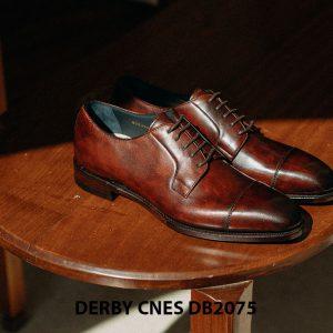Giày tây nam mũi vuông Derby CNES DB2075 003