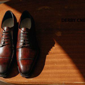 Giày tây nam mũi vuông Derby CNES DB2075 002