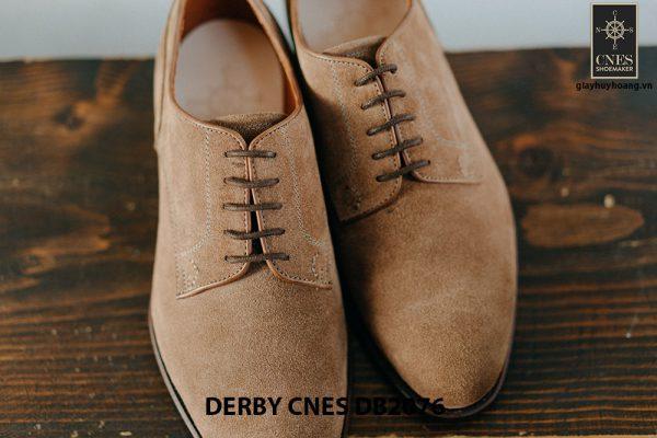 Giày da nam da lộn không nhăn Derby CNES DB2076 007