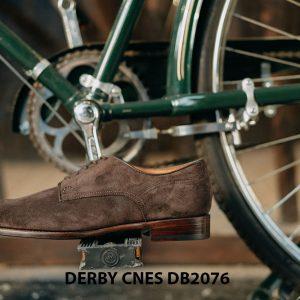 Giày da nam da lộn không nhăn Derby CNES DB2076 003
