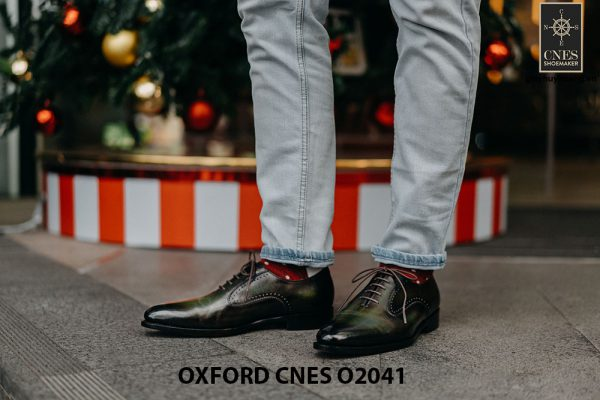 Giày tây nam thời trang Oxford CNES O2041 001