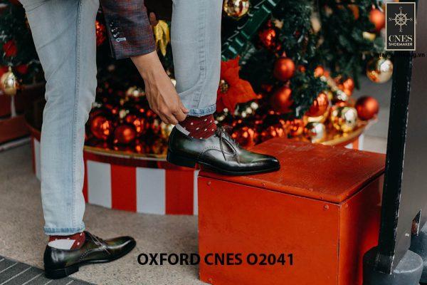 Giày tây nam thời trang Oxford CNES O2041 004