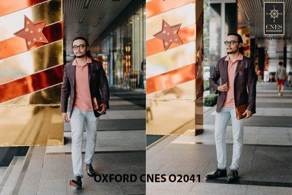 Giày tây nam thời trang Oxford CNES O2041 002