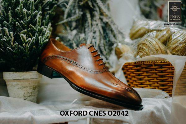 Giày tây nam chính hãng brogues Oxford CNES O2042 006