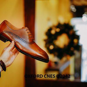 Giày tây nam chính hãng brogues Oxford CNES O2042 005