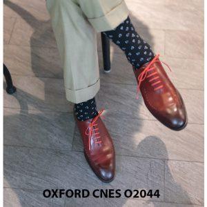 Giày tây nam buộc dây chính hãng CNES O2044 004