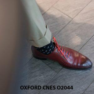 Giày tây nam buộc dây chính hãng CNES O2044 003