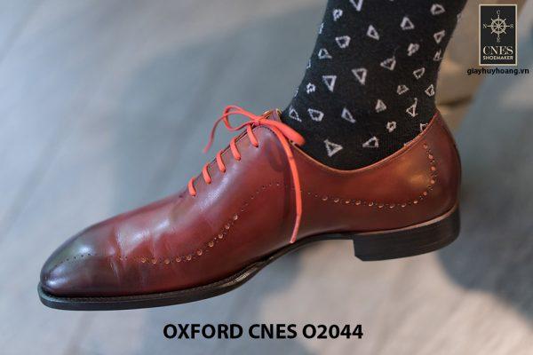 Giày tây nam buộc dây chính hãng CNES O2044 001