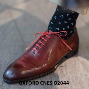 Giày tây nam buộc dây chính hãng CNES O2044 002