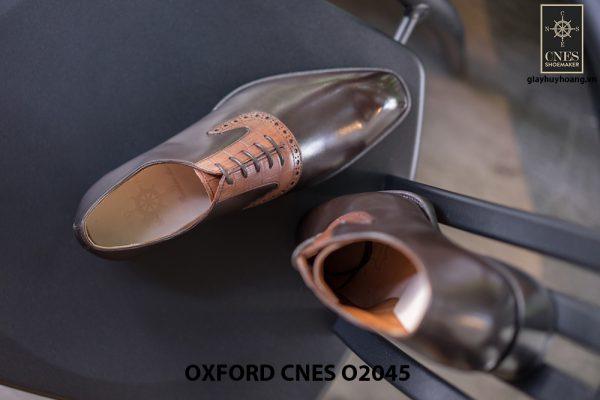 Giày tây nam thiết kế sáng tạo Oxford CNES O2045 007