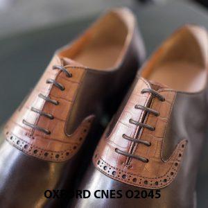 Giày tây nam thiết kế sáng tạo Oxford CNES O2045 005