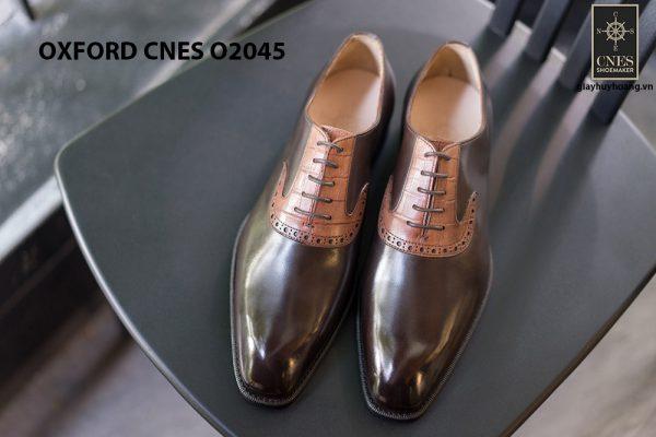 Giày tây nam thiết kế sáng tạo Oxford CNES O2045 001