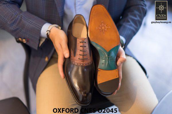 Giày tây nam thiết kế sáng tạo Oxford CNES O2045 004