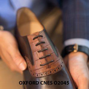 Giày tây nam thiết kế sáng tạo Oxford CNES O2045 003