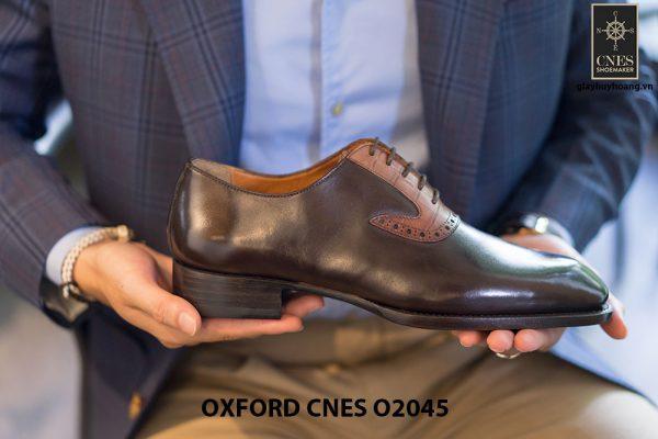 Giày tây nam thiết kế sáng tạo Oxford CNES O2045 002