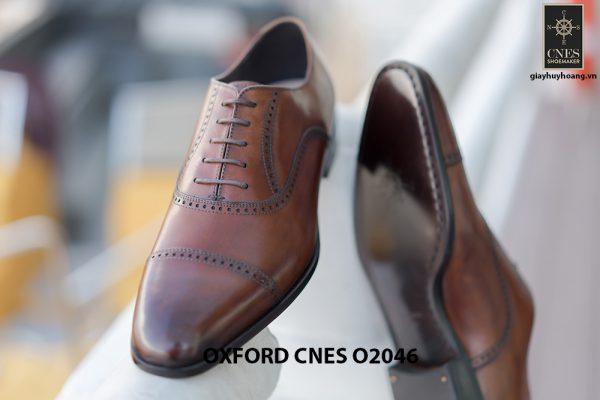 Giày da nam hàng hiệu Oxford CNES O2046 007
