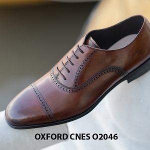 Giày da nam hàng hiệu Oxford CNES O2046 006