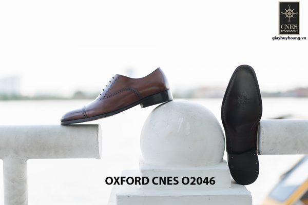 Giày da nam hàng hiệu Oxford CNES O2046 005