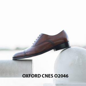 Giày da nam hàng hiệu Oxford CNES O2046 004