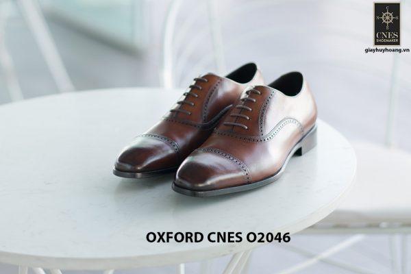 Giày da nam hàng hiệu Oxford CNES O2046 002