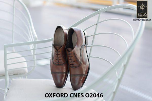 Giày da nam hàng hiệu Oxford CNES O2046 001