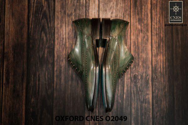 Giày tây nam hoạ tiết Wingtip Oxford CNES O2049 010