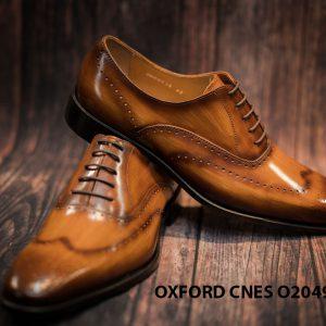 Giày tây nam hoạ tiết Wingtip Oxford CNES O2049 008