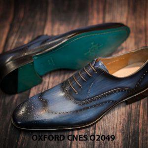 Giày tây nam hoạ tiết Wingtip Oxford CNES O2049 006