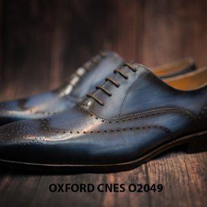 Giày tây nam hoạ tiết Wingtip Oxford CNES O2049 005