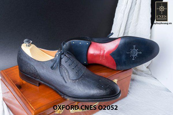Giày da nam Brogues Saphire Oxford CNES O2052 005